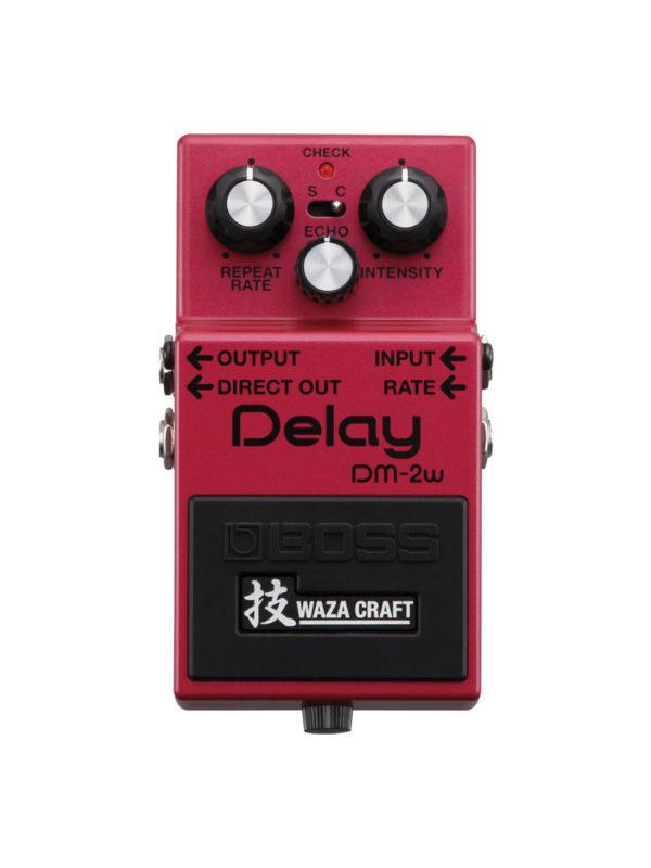 DM-2W Boss Waza Delay Pedal