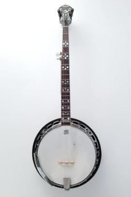 Epiphone by Gibson Masterbuilt Resonator Banjo Full Front