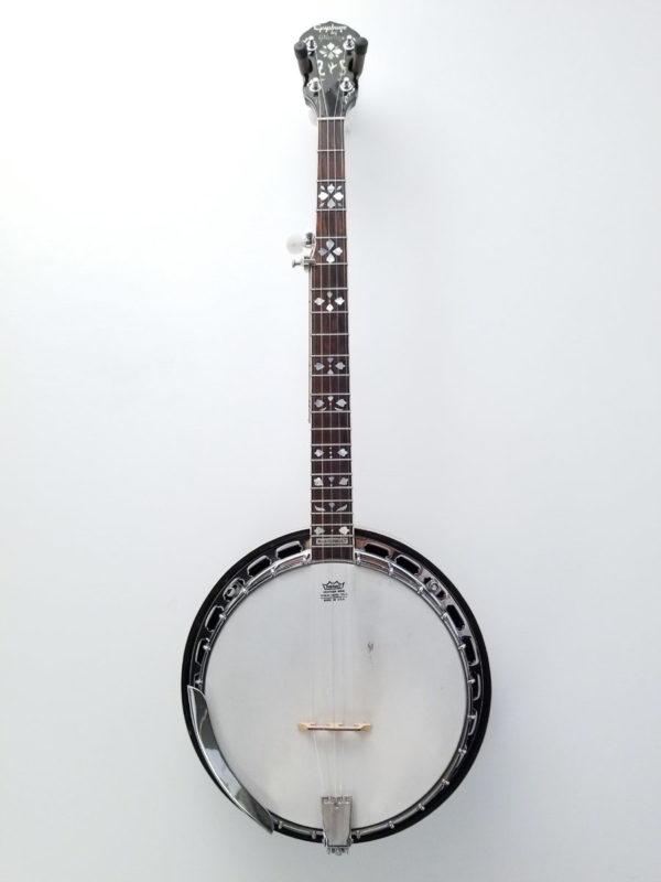 Epiphone by Gibson Masterbuilt Resonator Banjo Full Front