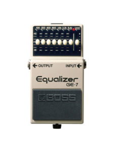 GE-7 Boss Equalizer Pedal