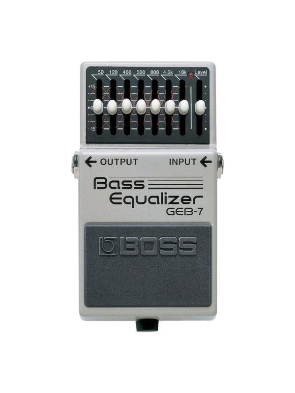 GEB-7 Boss Bass Equalizer Pedal