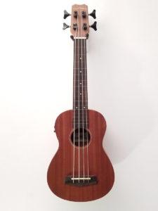 Islander Uke Bass with Pickup PAKO-M-FRETLESS