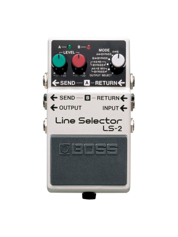 LS-2 Boss Line Selector Pedal