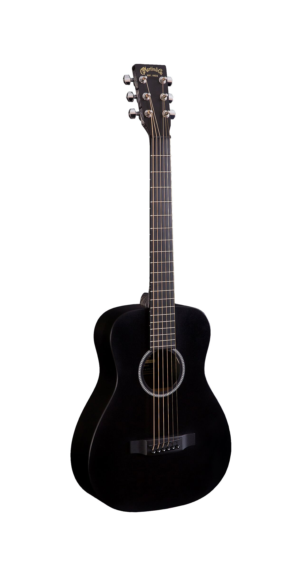 Used Martin LX Black Little Martin Acoustic Short Scale