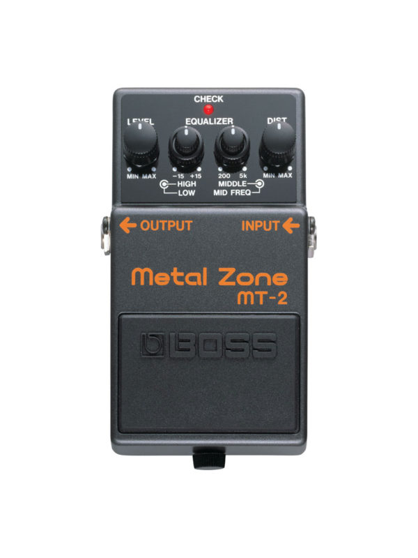 MT-2 Boss Metal Zone Pedal