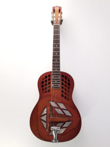 National M-1 Tricone Resonator Guitar Front