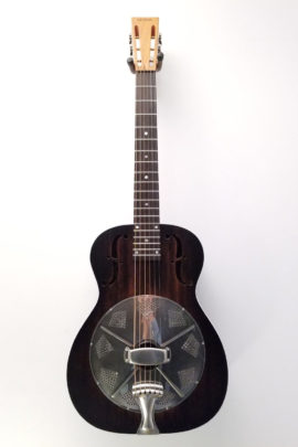 "National ""Thunderbox"" Revolver Singlecone Resonator Guitar"