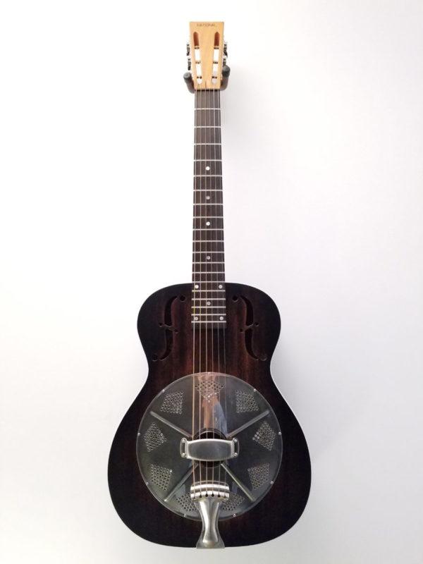 "National ""Thunderbox"" Revolver Singlecone Resonator Guitar"