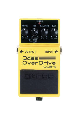 ODB-3 Boss Bass Overdrive Pedal