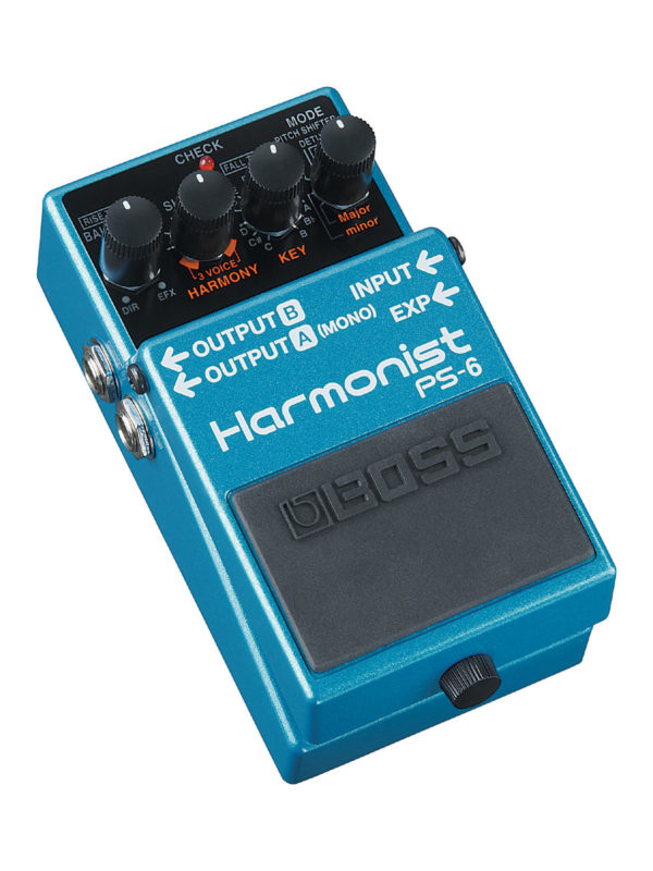 PS6 Boss Harmonist Pedal