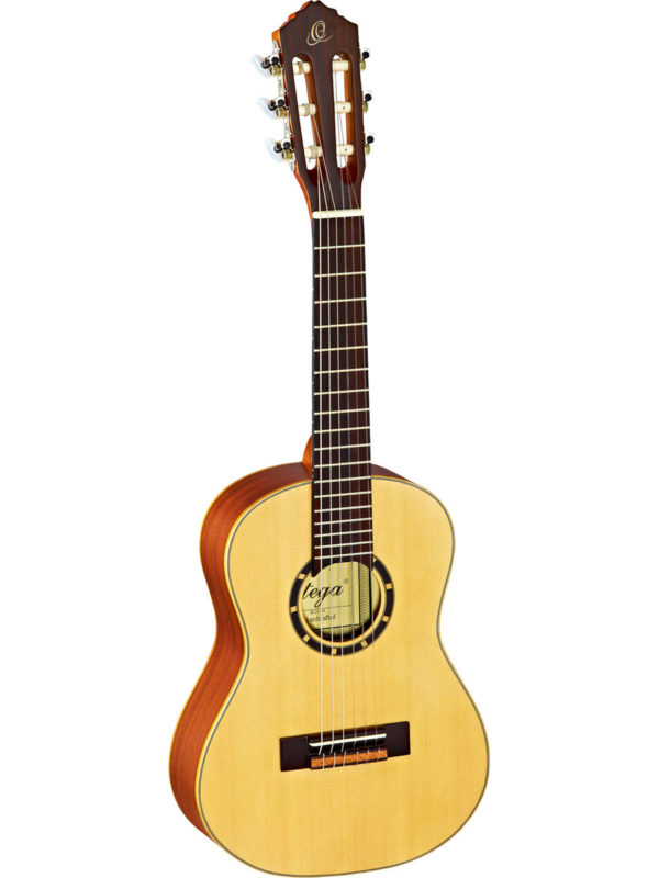 Ortega 1/4 Size Guitar with Spruce top - Satin Finish