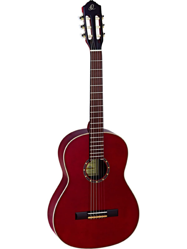 Ortega Full Size Slim Neck Guitar - Gloss Wine Red Finish