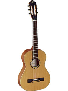 Ortega 1/2 Size Guitar with Cedar top - Satin Finish