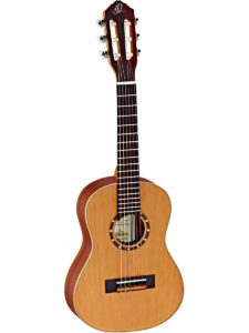 Ortega 1/4 Size Guitar with Cedar top - Satin Finish