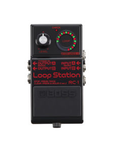 Boss RC-1 Loop Black Pedal