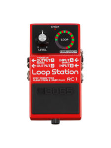 RC-1 Boss Loop Pedal