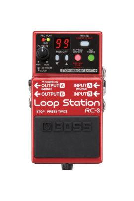 RC-3 Boss Loop Pedal