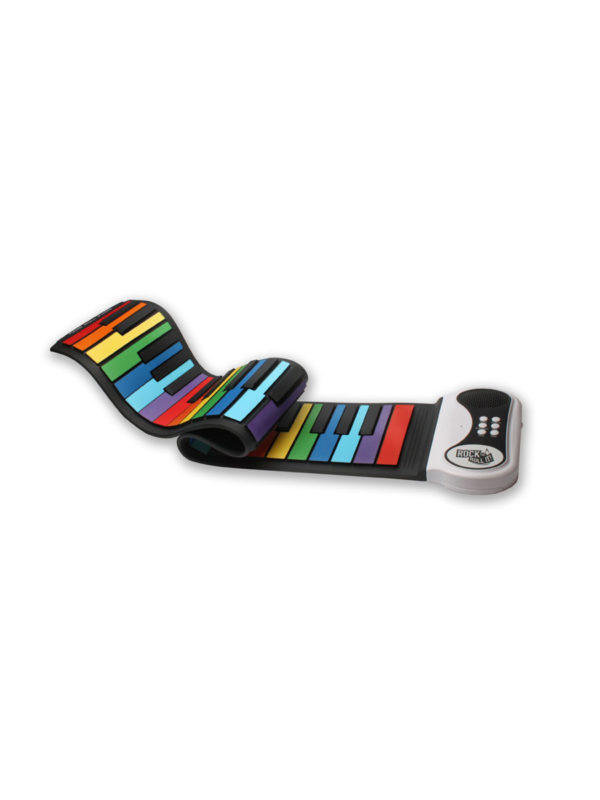 Rock and Roll It Flexible Piano with Rainbow Keys