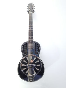 John Morton Parlor Brass Single Cone Resonator Guitar