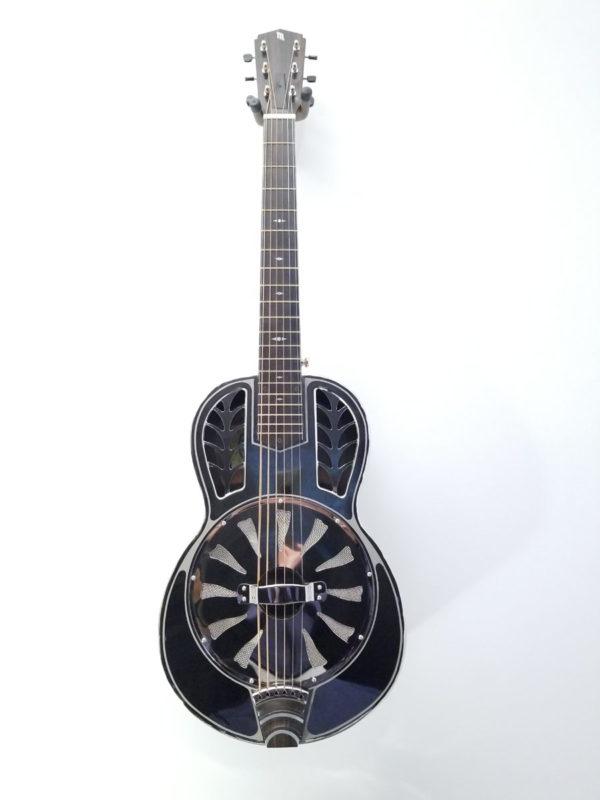 John Morton Parlor Brass Single Cone Resonator Guitar