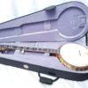 OME Resonator 5-String Banjo Gold Odyssey Case