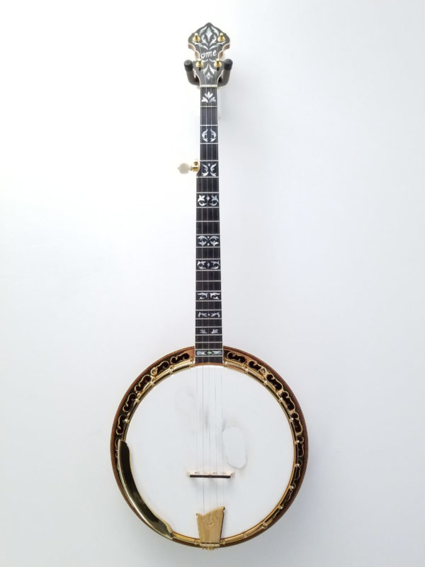 OME Resonator 5-String Banjo Gold Odyssey Front