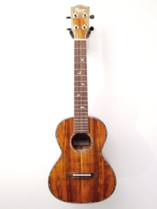 Ohana All Solid Koa Tenor Uke TK-370G Full Front