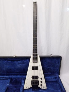 Steinberger XP-2 Electric Bass 1982 Full Front View