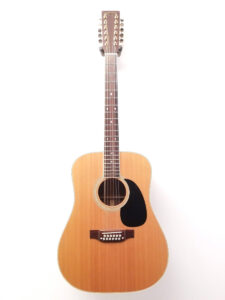 1978 Takamine 12-String Acoustic Guitar Front Full View