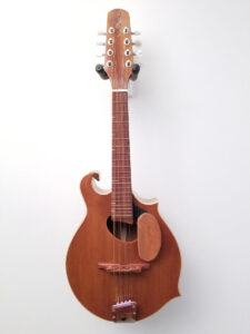 Blues Hardware Custom Mandolin Front