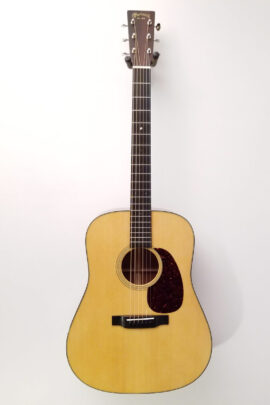 C.F. Martin D-18 Acoustic Guitar Full Front View