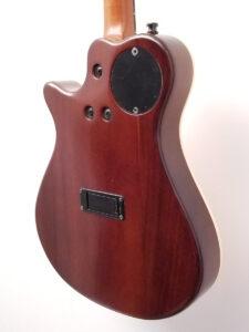 Used Godin A8 Electric Mandolin Angled Back View