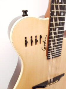 Used Godin A8 Electric Mandolin EQ Controls