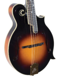 The Loar F-Style Glossy Mandolin Left View