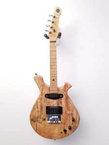 Mezz Custom 4-String Electric Mandola Front