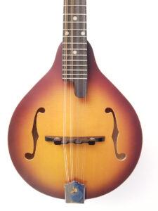 Recording King A-Style Mandolin RAM-3-TS Front Closeup