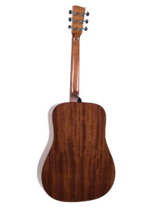 Recording King Dreadnought Afffordable Acoustic Guitar Back View