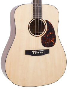 Recording King Dreadnought Afffordable Acoustic Guitar Top View