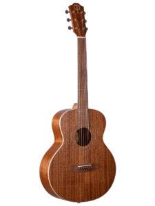 Teton Mini Jumbo Mahogany Top Guitar Top