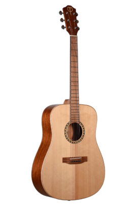 Teton Solid Spruce Top Acoustic Guitar Front STS100NT
