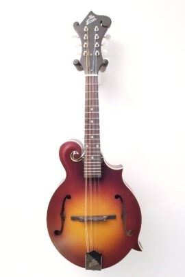 The Loar F-Style Mandolin LM-590-MS Front View