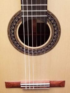 John Blanchard Classical Guitar Mosaic Rosette