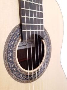 John Blanchard Classical Guitar Fretboard