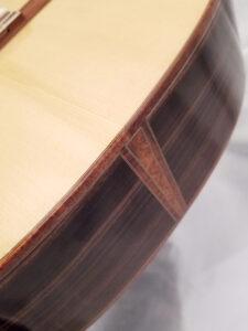 John Blanchard Classical Guitar Bottom Detail