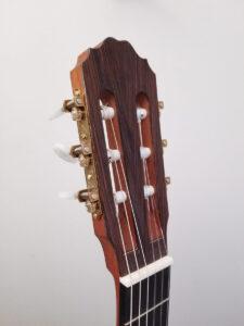 John Blanchard Classical Guitar with Mosaic Rosette Headstock