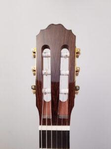 John Blanchard Classical Guitar Front Headstock