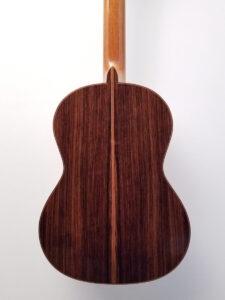 John Blanchard Classical Guitar Back