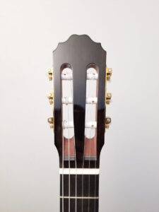 John Blanchard Classical Handmade Guitar with Spalted Maple Rosette Ebony Front Plate