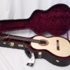 John Blanchard Classical Handmade Guitar with Spalted Maple Rosette in Case
