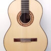 John Blanchard Classical Handmade Guitar with Spalted Maple Rosette - Front View